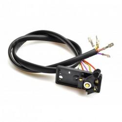 Mando de intermitencias VESPA 163132 PX80/125/150/200 (78-83) - 6 cable (12V) (mod. Sin bateria)