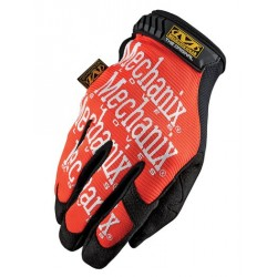 Par de guantes Mechanix The Original naranja Talla XL