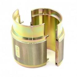 Instalador de retenes de horquilla. Tipo abierto. Ø43