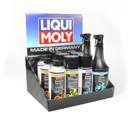 Display expositor de mostrador de productos Liqui Moly