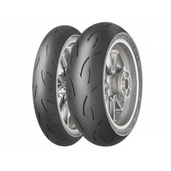 Pack Dunlop D212 GP Racer 120+190 (dot 018/019)