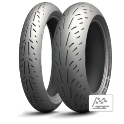 Pack Michelin Power RS + Power Supersport Evo 120+190/50-17 (dot 016/019)