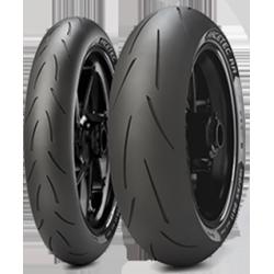 Pack Metzeler / Pirelli 120+200/55 -17 SC2+K2RR ( dot 015/017)
