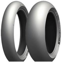 Pack Michelin Power Slick Ultimate 120+200 comp B ( Delantero Usado)