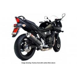 Escape Scorpion Factory Suzuki GSF Bandit 650 (07-11) Titanio/Inox Redondo