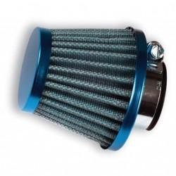 Filtro conico papel 28/35 recto. Azul