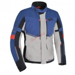 CHAQUETA MONDIAL ADVANCED MS GRIS/AZUL/ROJO T-XL