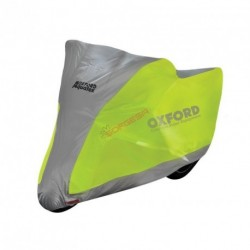 FUNDA MOTO OXFORD AQUATEX FLUORESCENTE T-XL