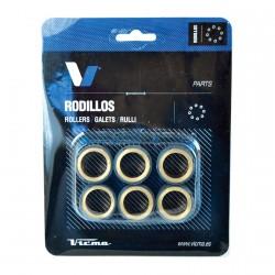 Rodillos variador carbono 20x17. 10,5g