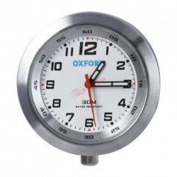 RELOJ ANALOGICO OXFORD PLATA
