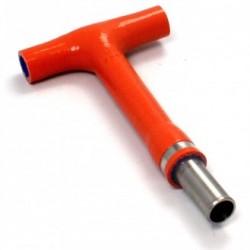 Conector T naranja Samco FTP-3