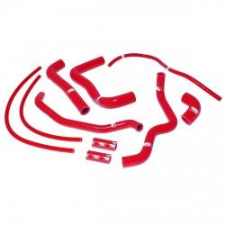 Kit manguitos rojo Aprilia Samco APR-3-RD