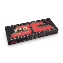 Cadena JT 525X1R con 124 eslabones negro