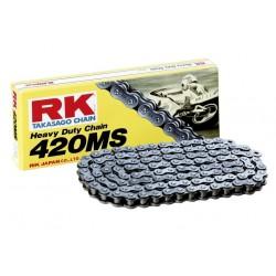 Cadena RK 420MS con 76 eslabones negro
