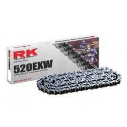 Cadena RK 520EXW con 60 eslabones negro