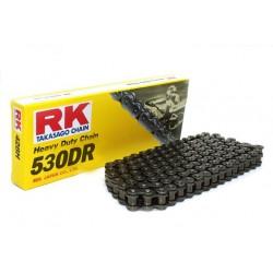 Cadena RK 530DR con 76 eslabones negro