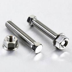 Tensor de cadena (x2) M8 x 45mm Acero Inox Natural Pro-Bolt SSAXLEADJ845SET