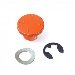 Regulador maneta 4 posiciones Pro-Bolt Aluminio naranja LDA10O