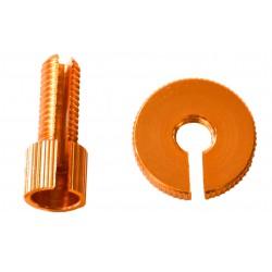 Tensor de Pro-Bolt M8 (1 piezass) Aluminio naranja LCA10O