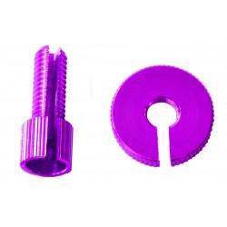 Tensor de Pro-Bolt M8 (1 piezass) Aluminio violeta LCA10P