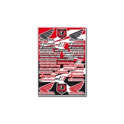 Kit Adhesivos Honda Racing Blackbird Racing 5076H