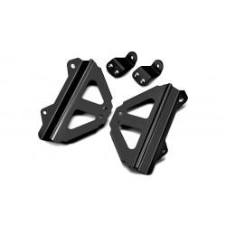 Protector radiador Honda negro