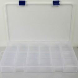 """Caja con compartimentos 14""""/ 9"""" plástico Pro-Bolt COMPARTMENT149"""