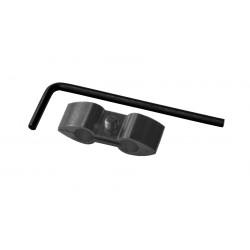 Separador de cable Pro-Bolt Aluminio negro HOSESEP10BK