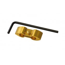 Separador de cable Pro-Bolt Aluminio oro HOSESEP10G