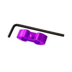 Separador de cable Pro-Bolt Aluminio violeta HOSESEP10P