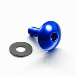 Tornillo de Aluminio XL Pro-bolt cabeza redondeada M5 x (0.8mm) x 16mm azul LFB516XLB
