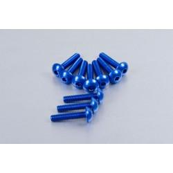 Kit tornillos de carenado Pro-Bolt (10 pack) Aluminio azul FB525-10B