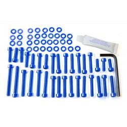 Kit tornillería de motor Pro-Bolt Aluminio azul BMW S1000RR EBM047B