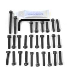 Kit tornillería de motor Pro-Bolt Aluminio negro CBR600 f1-f5 '00-'04 EHO087BK