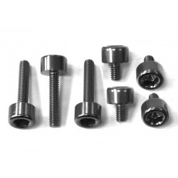 Kit tornilleria tapón depósito Pro-Bolt Honda Aluminio negro THONBK