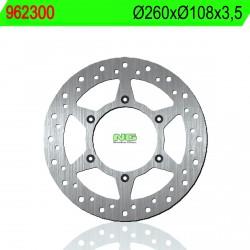 Disco de freno NG 300 Ø260 x Ø108 x 3.5