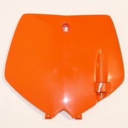 Portanúmeros delantero UFO KTM naranja KT03071-127
