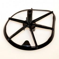 Plástico sujección filtro de aire UFO Honda negro HO02666-001