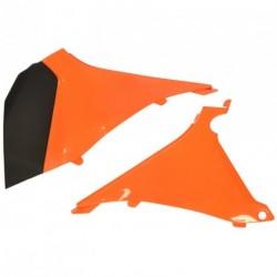Tapa caja filtro aire UFO KTM naranja KT04026-127