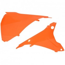 Tapa caja filtro aire UFO KTM naranja KT04054-127