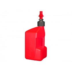 Garrafa Tuff Jug 10L rojo con tapón rojo
