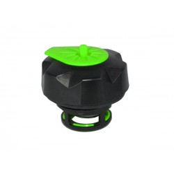Tapón de gasolina negro/verde especial para garrafa Tuff Jug