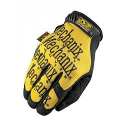Par de guantes Mechanix The Original amarillo Talla M