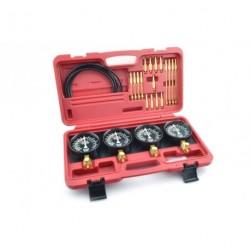 Kit sincronizador para motores 2-4 carburadores, test bomba de gasolina y transmisión