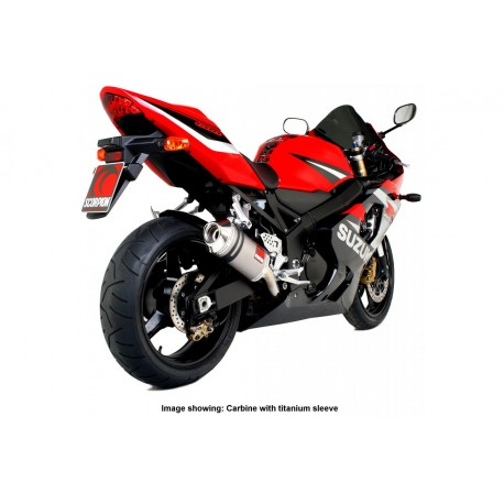 Escape Scorpion Carbine Suzuki GSX-R 600 (00-05) Carbono/Carbono