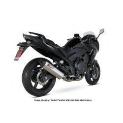 Escape Scorpion Serket Honda CBF 1000 (10-) Titanio Paralelo