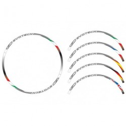 Adhesivos para llanta Cool Stripes flag